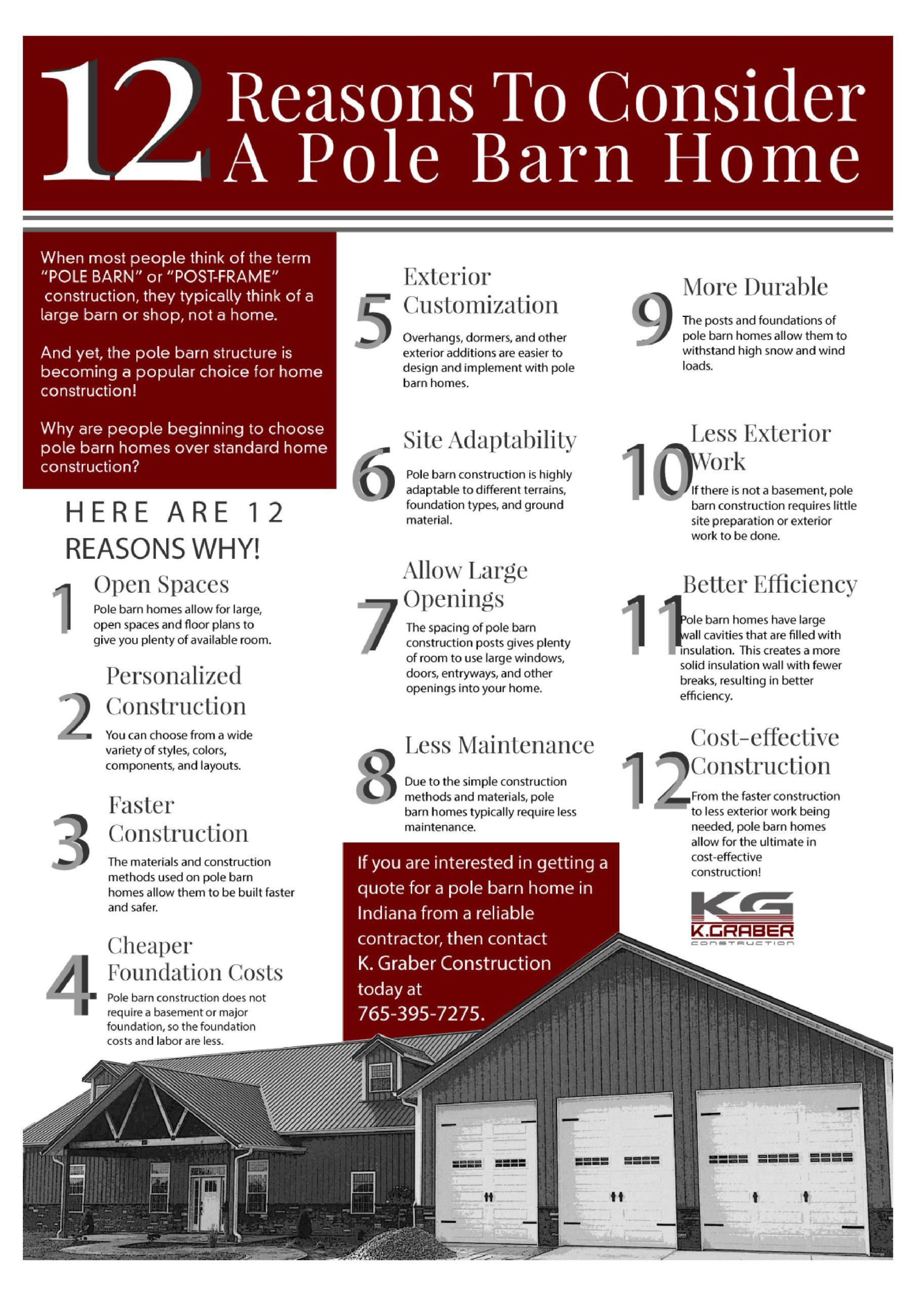 12 Benefits of Pole Barn Homes