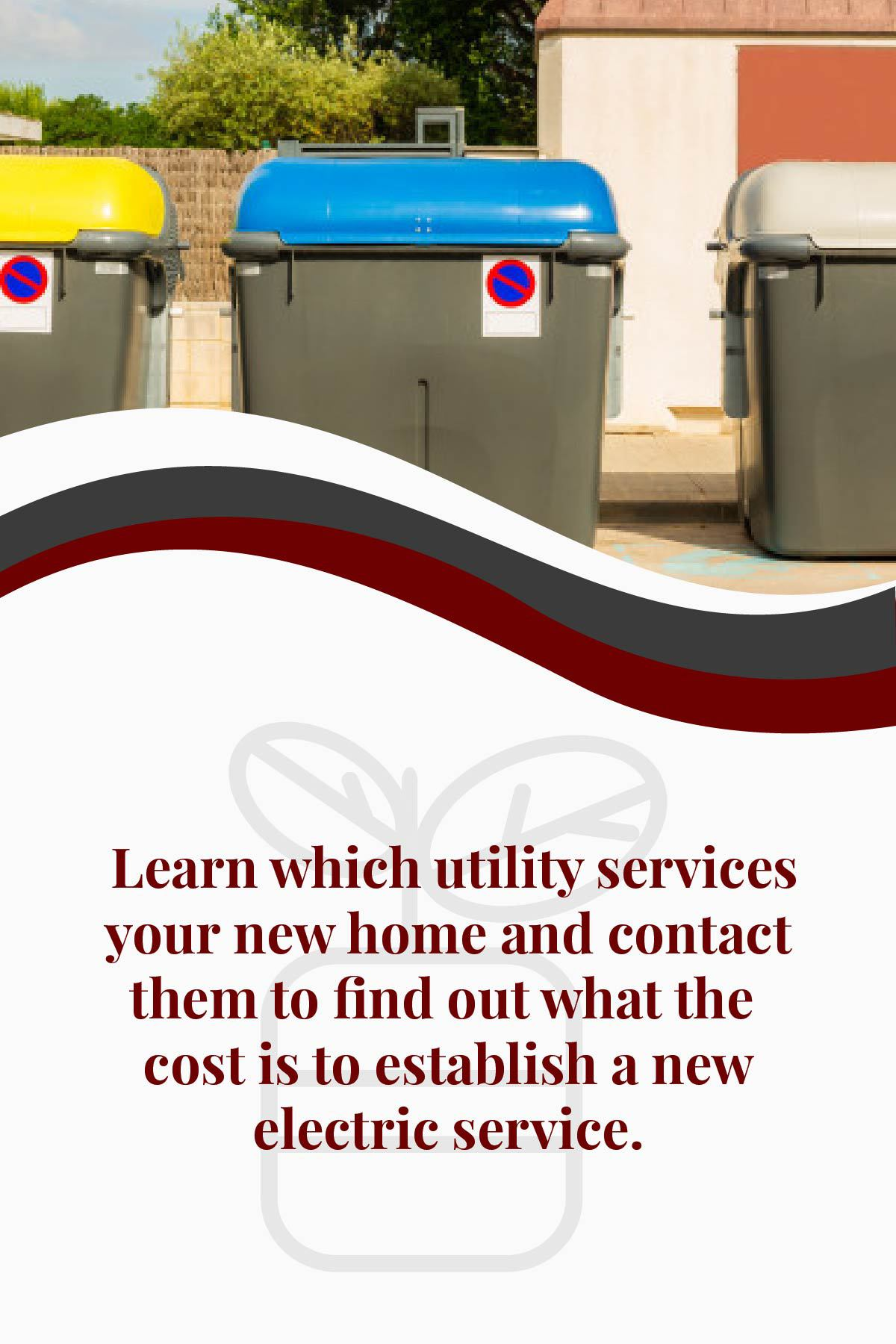 find our electric service costs from a utility service