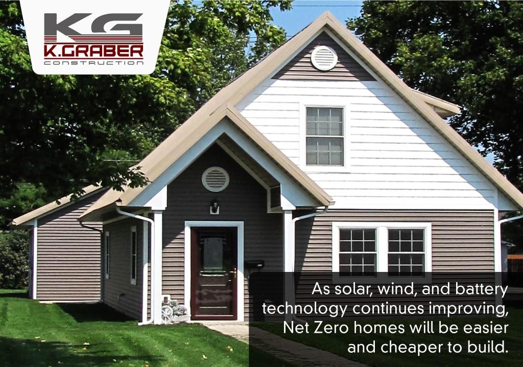 Solar technology makes net zero homes cheaper to construct
