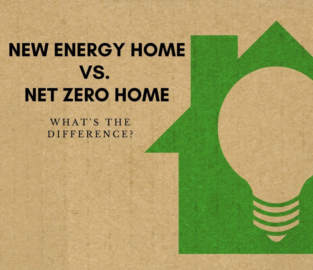 New Energy Home vs. Net Zero Home