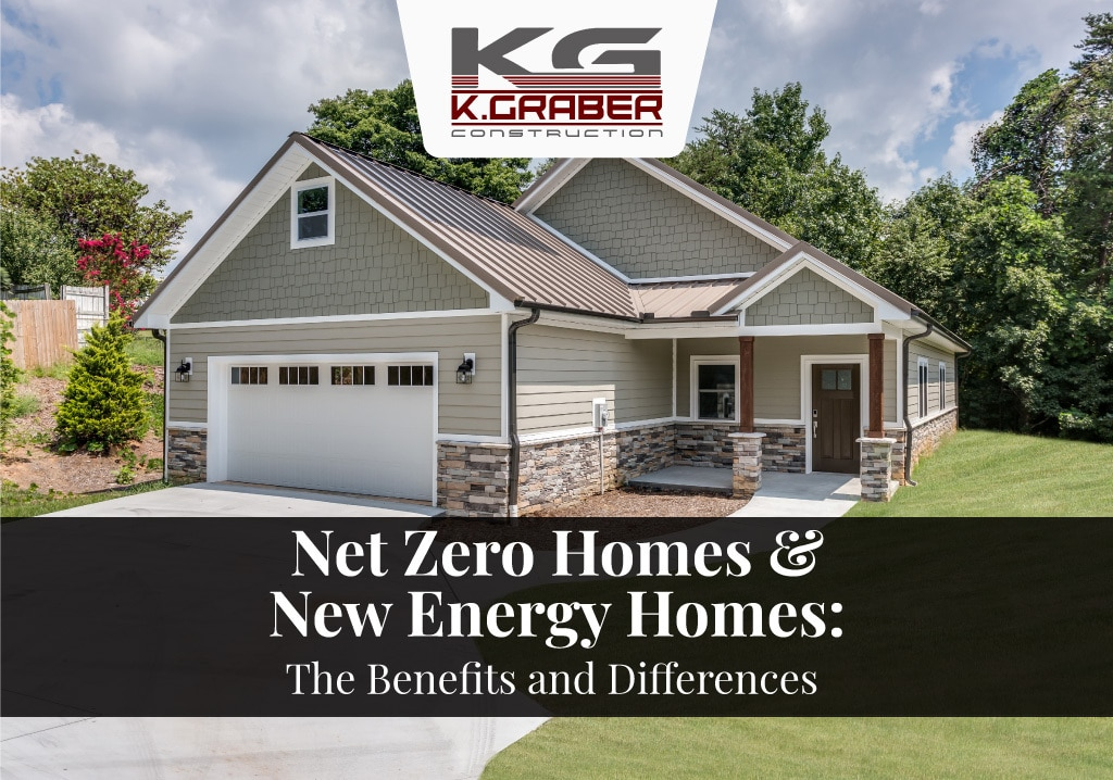 Net Zero Homes & New Energy Homes - The Benefits And Differences