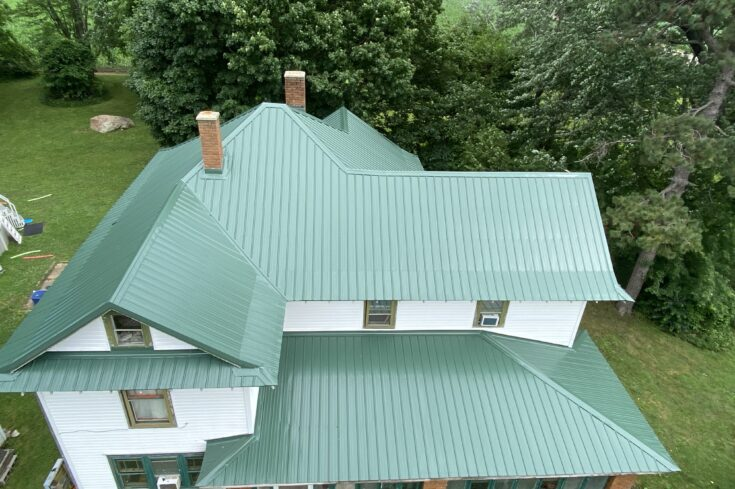 Residential Metal Roof in Lucerne, Indiana