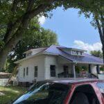 metal roof in sharpsville